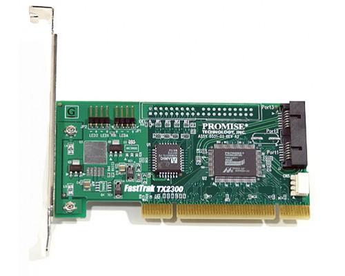 Контроллер PCI Promise Fast Trak TX2300 SATA II RAID 0,1, JBOD 2канала