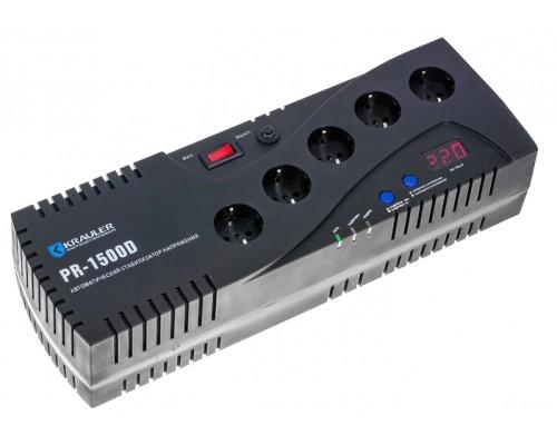 Стабилизатор напряжения Krauler VR-PR1500D (черный)