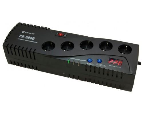 Стабилизатор напряжения Krauler VR-PR500D (черный)