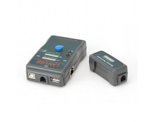 Тестер-LAN Gembird NCT-2, 100/1000 для UTP, STP, USB, RJ-11
