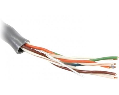 Кабель UTP Cat 5e BaseLevel BL-UTP04-5e, Cu, PVC, 4 пары, 24AWG(0.50мм), оболочка PVC, бухта 305м, 1м