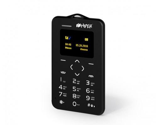 Мобильный телефон HIPER CARD P-01BLK 0.96