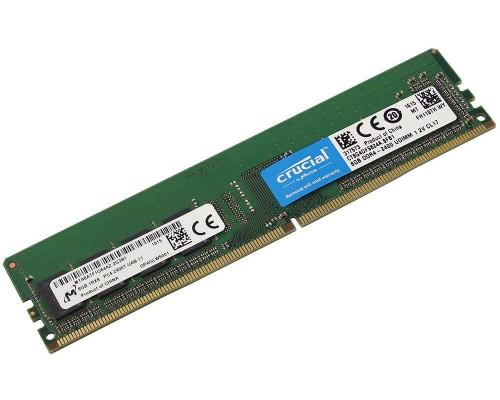 Модуль памяти DDR4 Crucial 8Gb 2400MHz CL17 1,2v DIMM CT8G4DFS824A RTL