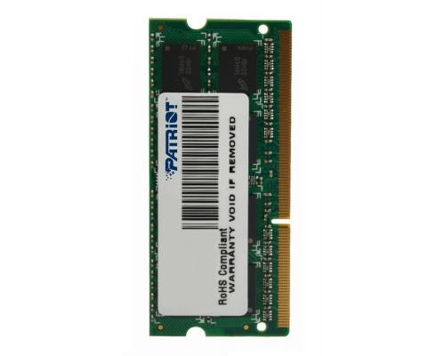 Модуль памяти DDR3 Patriot 4Gb 1600МГц CL11 SO-DIMM 1,5v PSD34G16002S RTL
