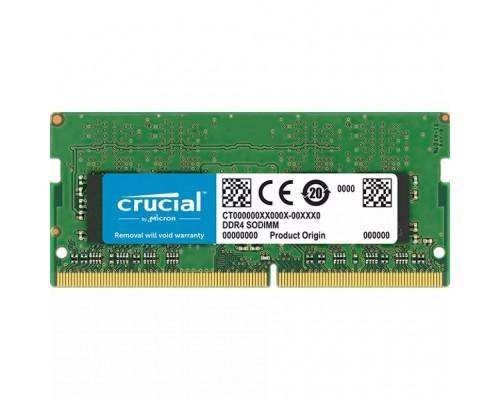 Модуль памяти DDR4 Crucial 8Gb 2400MHz CL17 SO-DIMM 1,2v CT8G4SFS824A RTL