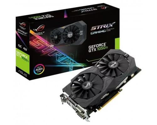 Видеокарта 4096Mb PCI-E Asus GeForce STRIX-GTX1050TI-4G-GAMING 128bit PCI-E 3.0 GDDR5 1xDVI-D 1xHDMI 1xDP RTL