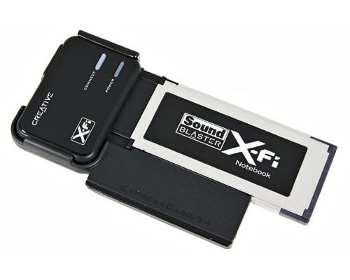 Звуковая карта Creative X-Fi  Notebook (SB0950) ExpressCard/34