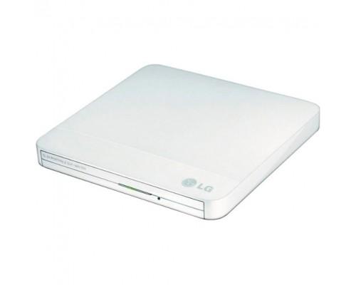 Дисковод DVD-RW 8xW/8xRW/8xR/24xW/24xRW/24xR LG GP50NW41, белый (USB2.0)