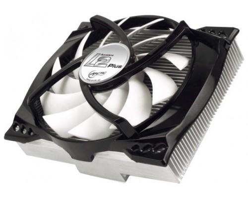 Охладитель для видеокарты Arctic Cooling Accelero L2 Plus d12мм для Radeon, GeForce GTX, алюминиевый, подшипник гидродинамический, 900-2000rpm, d120mm