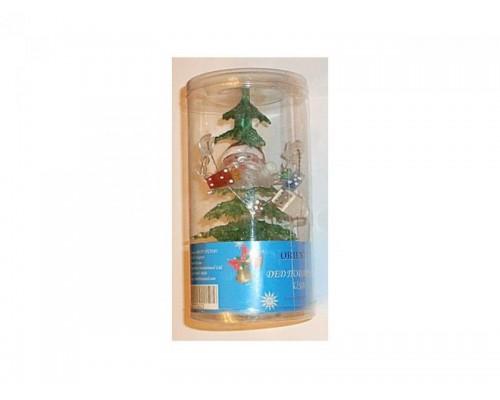 Сувенир - светящаяся игрушка Дед Подаркин Orient NY5182 USB