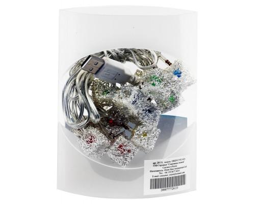 Новогодняя гирлянда светящаяся Orient Сокровища гномов NY1416 USB