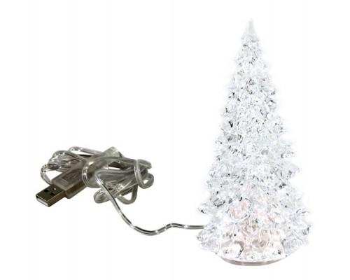 Новогодняя елка светящаяся, Хрустальная елочка, Orient 340 USB