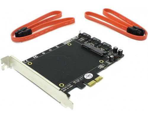 Контроллер PCI-Ex2 STLab A-550 SATA III (4внутр.), RAID Hyper Duo, 10, 1, 0