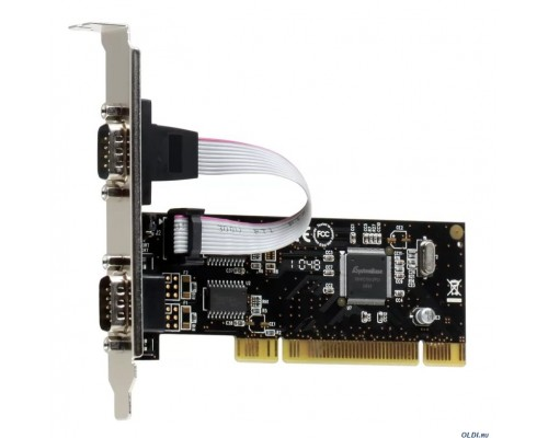 Контроллер PCI Match Tech PMIO-B1T-0002S 2xCOM (RS-232), MosChip MCS98655