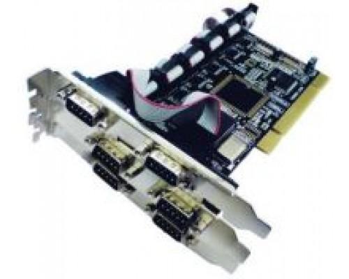 Контроллер PCI STLab I-450 COM (2 внешн. 9pin + 4 внутр. 9pin)