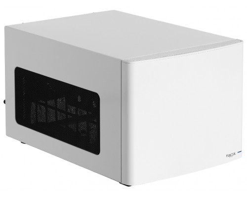 Корпус Fractal Design Node 304, mini-ITX <без БП> White, 2xUSB2.0, 6x3.5, fancase: установлено 2x90mm, 1x140mm, 3х-ступенчатый регулятор скорости вращения встроенных вентиляторов