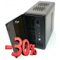 Корпус Chenbro ES34069 mini-ITX, fan case 2х70mm (установлен 2х70мм), 2хUSB2.0, card reader SD/Mini-SD/MMC/MS, черн., внешний БП 180W