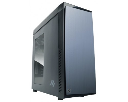 Корпус Zalman R1, ATX, fan case 5x120mm (установлено 3), USB2.0x2, USB3.0x1, Audio I/O, черн., без БП