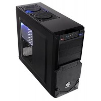 Корпус Thermaltake VN900A1W2N Commander MS-II, Midi-Tower, fan case 5x120mm (установлено 1), 1хUSB3.0, 1хUSB2.0, 2хAudio, без БП, черный