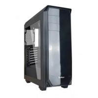 Корпус Velton 9000GM-1 Black ATX, fan case 5х120mm (установлено 5x120mm, Led front fan), 2xUSB2.0, 1xUSB3.0, черный (без БП)