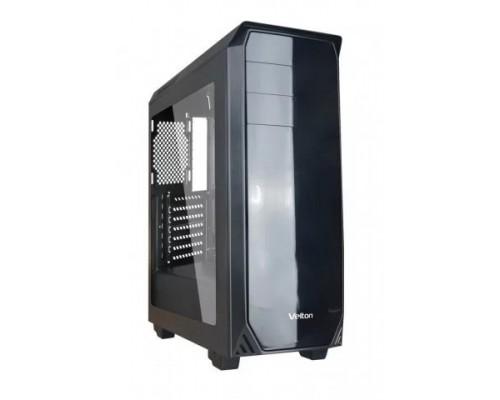 Корпус Velton 9000GM-1 Black ATX, fan case 5х120mm (установлено 5x120mm, Led front fan), 2xUSB2.0, 1xUSB3.0, черный (без БП)