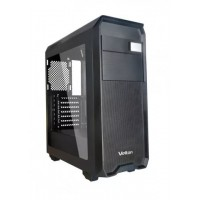 Корпус Velton 9000GM-2 Black ATX, fan case 5х120mm (установлено 5x120mm, Led front fan), 2xUSB2.0, 1xUSB3.0, черный (без БП)