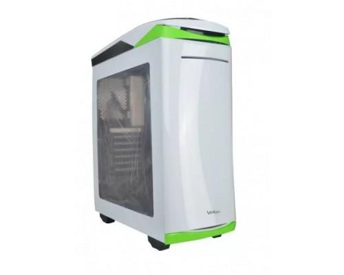 Корпус Velton 9000GM-5 White ATX, fan case 5х120mm (установлено 5x120mm, Led front fan), 2xUSB2.0, 1xUSB3.0, белый (без БП)