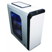 Корпус Zalman Z9 NEO PLUS WHITE, ATX, fan case 3x120mm (установлено 5), fan case 2x140mm (установлено 0), fan controller, USB2.0x2, USB3.0x2, белый, без БП