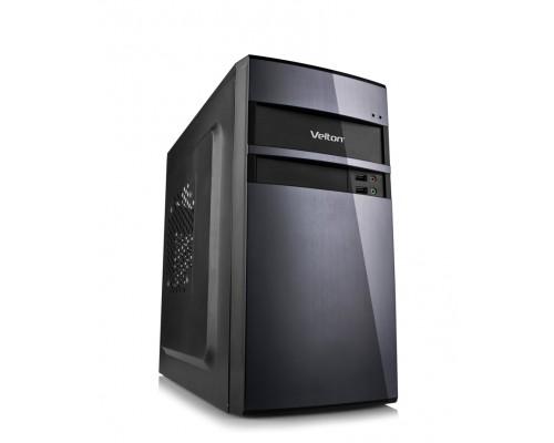 Корпус Velton 7801A-D, mATX, fan case 2х90mm, 1x120mm (установлено 0), 1xUSB3.0, 1xUSB2.0, 1xAudio, черный <450W, 80mm>