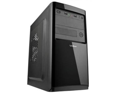Корпус Velton 7802A-D, mATX, fan case 2х90mm, 1x120mm (установлено 0), 1xUSB3.0, 1xUSB2.0, 1xAudio, черный <450W, 80mm>