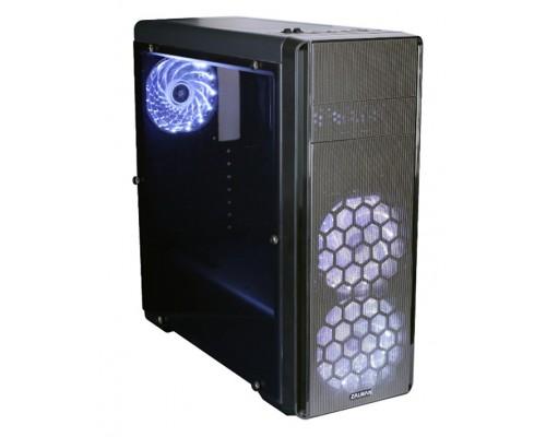 Корпус Zalman N3, ATX, fan case 3x120mm с белой подсветкой (установлено 3), USB2.0x2, USB3.0x1, Audio I/O, черн., без БП