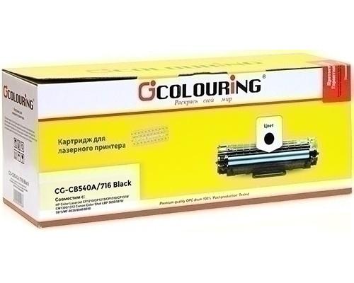 Картридж HP CB540A/Canon 716 color LJ1215/1515 black Colouring