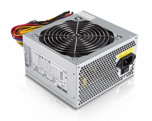 Блок питания BaseLevel 500W BS-500 ATX2.3 20/24+4pin, APFC, вентилятор d120мм OEM