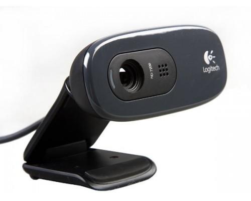 Web камера Logitech HD WebCam C270 фото 3Mpx видео 1280x720 микрофон USB2.0 (960-000636, 960-001063)