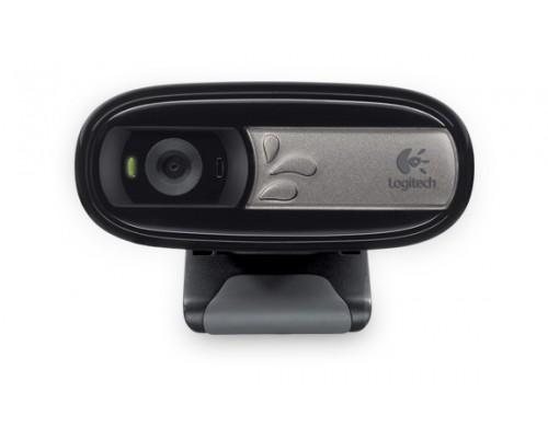 Web камера Logitech HD WebCam C170 фото 1.3Mpx видео 640x480 микрофон USB2.0 (960-000760, 960-001066)