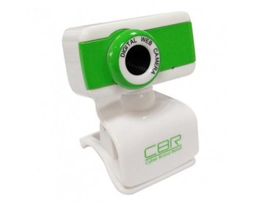 Web камера CBR CW-832M Green 1,3Mpx микрофон универсальное крепление 4 линзы USB