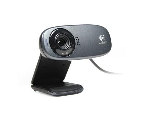 Web камера Logitech HD WebCam C310 фото 5Mpx видео 1280x720 микрофон USB2.0 (960-001065)