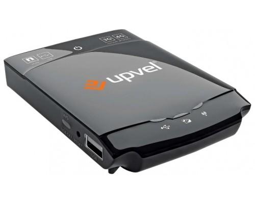 Маршрутизатор Wi-Fi  3G/4G Upvel UR-702N3G 802.11n, до150Мбит/с, 1 порт LAN/WAN, 1 порт USB2.0,  компактный, Client mode