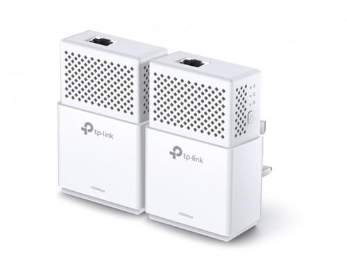 Сетевой адаптер TP-LINK TL-PA7010 KIT AV1000 Gigabit Powerline Adapter Kit (2 адаптера, 1UTP 10 / 100 / 1000Mbps, Powerline 1000Mbps)