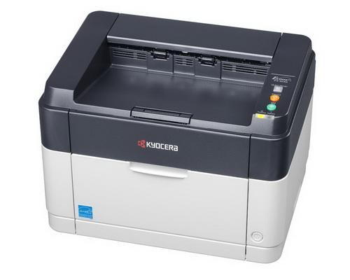 Принтер Kyocera FS-1040 A4 600x600dpi USB2.0 бело-черный