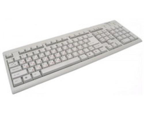 Клавиатура Gembird KB-8300U-R, USB, белая