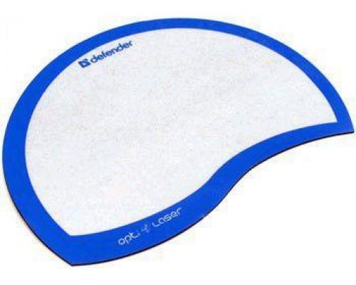 Коврик для мыши Defender Ergo opti-laser PVC 220x180x0.4мм синий (50513)