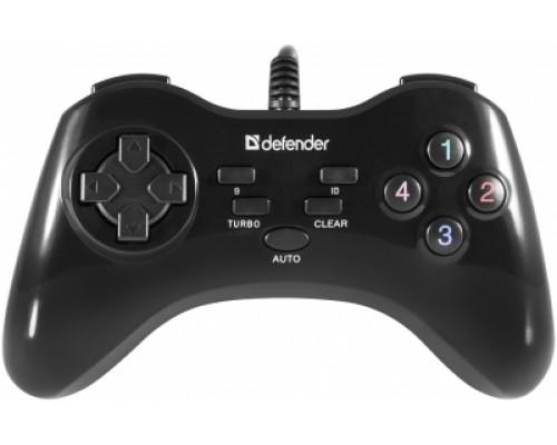 Игровой пульт Defender Game Master G2 10кн. (USB) 64258