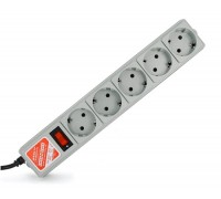 Сетевой фильтр Power Cube 5 розеток серый SPG-B-10 3м