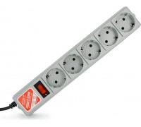 Сетевой фильтр Power Cube 5 розеток серый SPG-B-6 1,9м