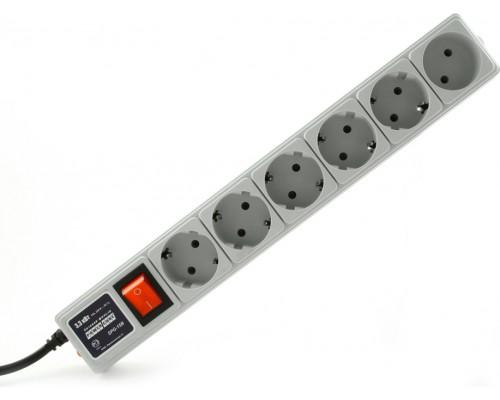 Сетевой фильтр Power Cube 6 розеток SPG(5+1)-16B-1,9М, 16А, 1,9м, белый