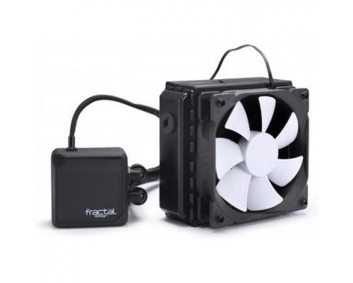 Система жидк. охлаждения Fractal Kelvin T12 S115X2011/1366/AM/FM, водоблок - медь, радиатор - алюминий, вентилятор 2x120мм, PWM 500-2000 об/мин, керамический подш. помпы (FD-WCU-KELVIN-T12-BK)