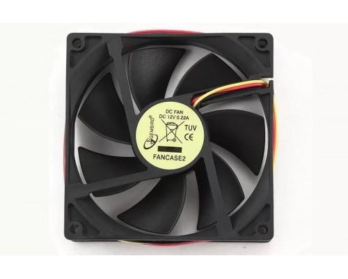 Вентилятор  92x92x25мм Gembird Fancase2 3pin MB подшипник скольжения