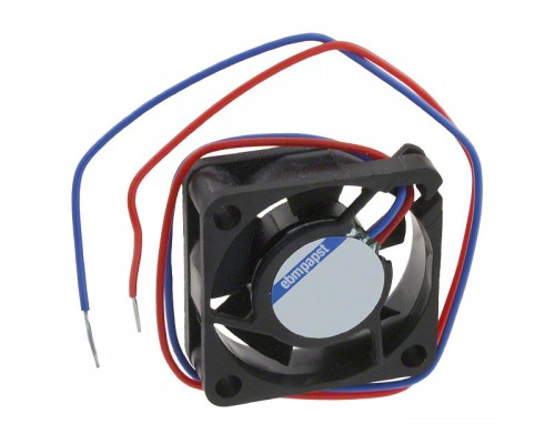 Вентилятор  25x25x8мм Ebmpapst 255 N, 4.5-5.5V, 0.080A, 3.2 m3/h, 16dB, sleeve, 2pin w/o conn.