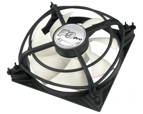 Вентилятор  92x92x25мм Arctic Cooling F9 Pro, гидродинамический подшипник, 3pin, 2000RPM, 35CFM, 0